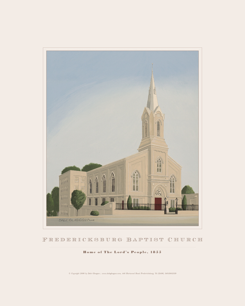 Fredericksburg Baptist Church by Dale Glasgow